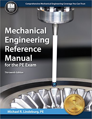 Pdf Math Mechanical Engineering Reference Manual for the PE Exam, 13th Ed