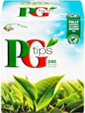 PG Tips 240 Original Pyramid Tea Bags from Great Britain