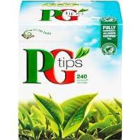PG Tips 240 Original Pyramid Tea Bags from Great Britain