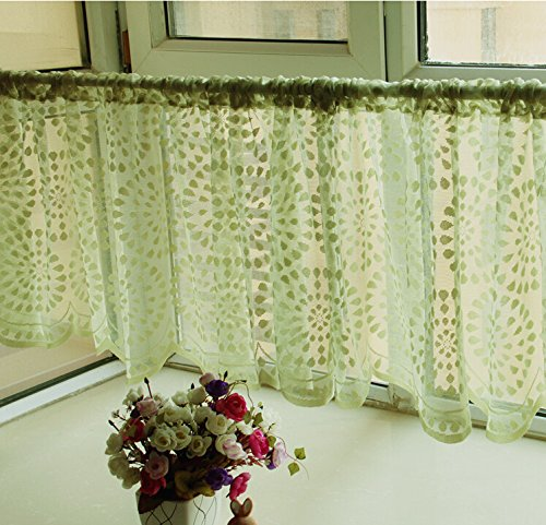 Green Kitchen Curtain Ideas: Ideas For Green Kitchen Curtains
