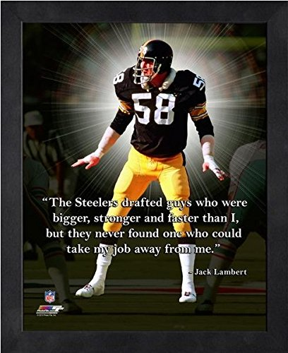 Jack Lambert Pittsburgh Steelers ProQuotes Photo (Size: 9