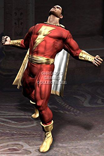 Marvel Universe Xbox 360 - CGC Huge Poster - Mortal Kombat vs DC Universe Captain Marvel PS3 XBOX 360 PC - MDC009 (24