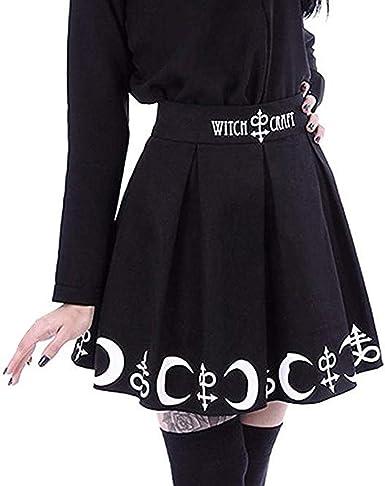 Las Rebajas, Falda Vaquera Mujer, Faldas Negras Plisadas de Tul ...