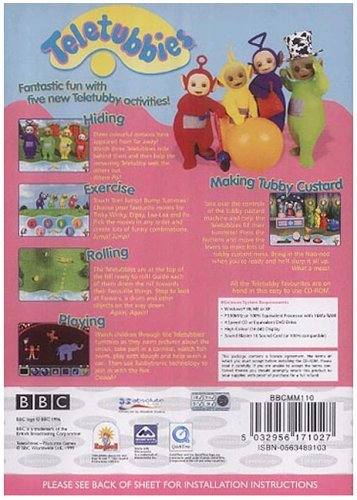 Play with the teletubbies rom (iso) download for sony playstation.