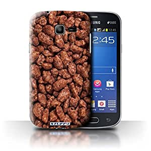 STUFF4 Phone Case / Cover for Samsung Galaxy Star Pro/S7260 / Coco Pops Design / Breakfast Cereal Collection
