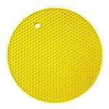 MORESAVE Non-slip Silicone Heat Resistant Trivet Pot Pan Holder Mat Kitchen Placemat Pad