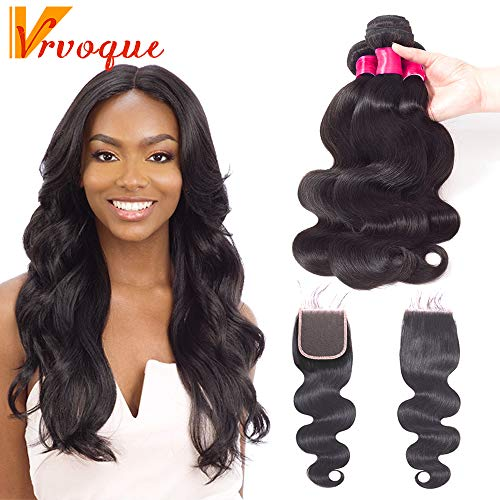 VRVOGUE Remy Hair Bundles (18