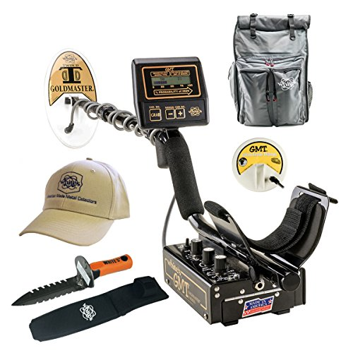 Whites GMT Metal Detector GEARED UP Bundle by GMT