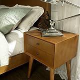 Crosley Furniture Landon Nightstand in Acorn Finish