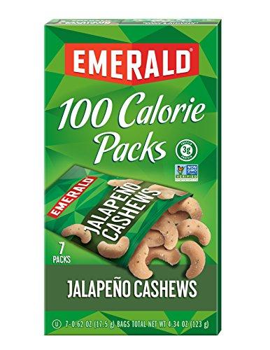 Emerald Jalapeno Cashews Calorie Packages