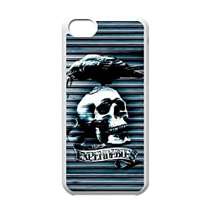 The Expendables iPhone 5c Cell Phone Case White DIY Gift zhm004_0449961