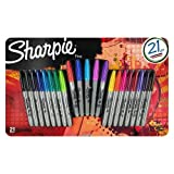 neon chart markers - Sharpie Permanent Markers Limited Edition 21ct Value Pack