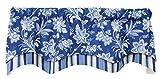 Barano Lined Layered Classic Valance Curtain 53″W x 17″L