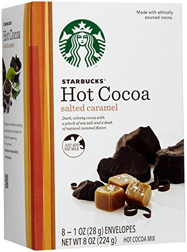 Starbucks Hot Cocoa Mix Holiday Assortment Pack 24 Pack Variety Box by Starbucks