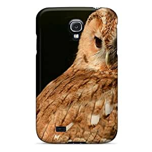 Durable Protector Case Cover With Owl Wallpaper Hot Design For Galaxy S4