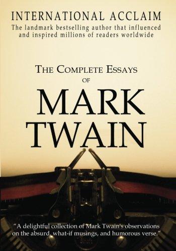 Essay mark twain writings essay background checks