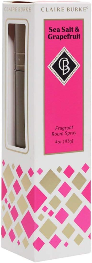 Claire Burke Room Spray Air Freshener, Sea Salt and Grapefruit, 4 fl oz