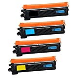 Bandar 4 Pack TN210 TN-210 Toner Compatible Ink Cartridges for Brother DCP-9010CN HL-3040CN HL-3045CN HL-3070CW HL-3075CW MFC-9320CN MFC-9010CN MFC-9120CN MFC-9125CN MFC-9320CW (BCMY)