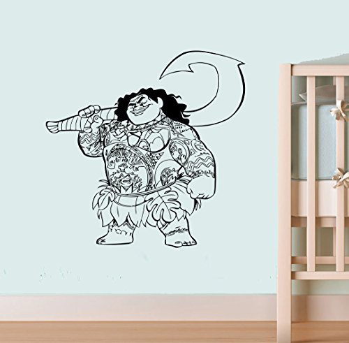 Maui Sticker Moana Wall Decal