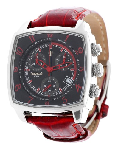 Lancaster Unisex Watch Chronograph red 0262SRR