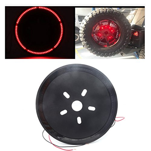 jeep spare tire brake light kit - 5