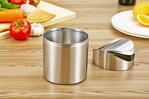 Bin Swing Lid Kitchen Table Can Waste Rubbish Eco-friendly, Inventory Stainless Steel Worktop by Waste Bins