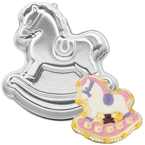 Wilton Cake Pan: Rocking Horse (2105-2388, 1984)