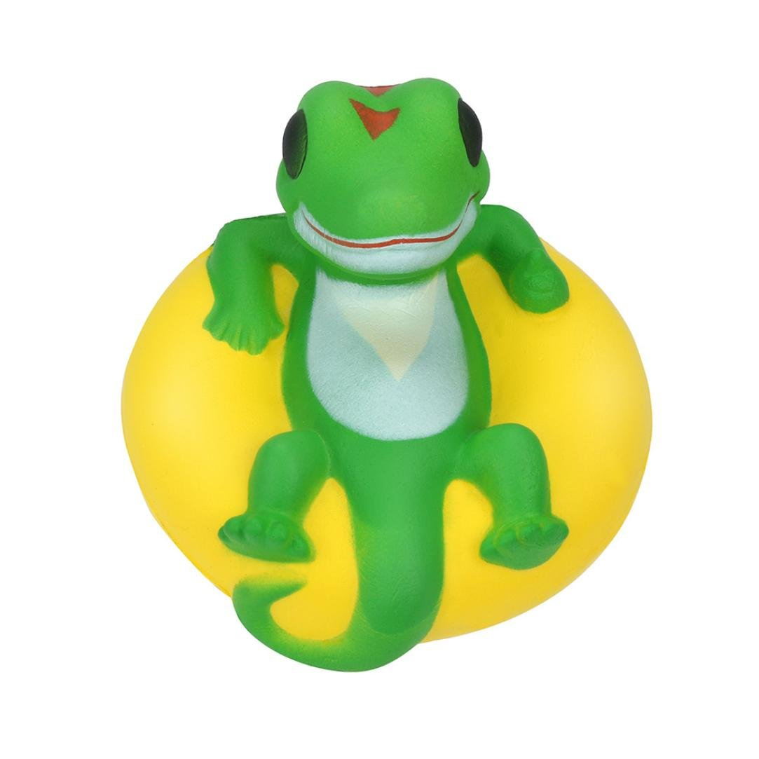 Lavany Squishies Jumbo Crocodile Toys, Cute Animals Squishy Slow Rising Jumbo Squishies Toy Scented Squeeze Toy for Adult Party (Crocodile ◆10x10x9CM)