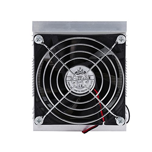 Huhushop(TM) DIY Thermoelectric Refrigeration Semiconductor Cooling System Cooler fan Kit by Yosoo (Image #2)
