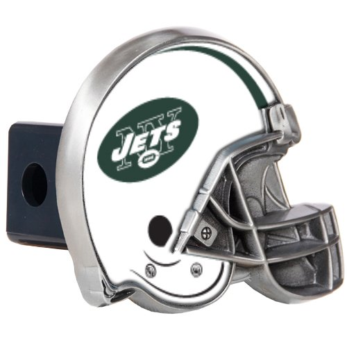 NFL New York Jets Helmet Trailer Hitch Cover Jets Hitch