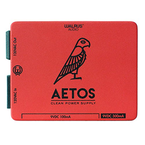 (Walrus Audio Aetos 8 Output 120 Volt Power Supply, Limited Edition Red)