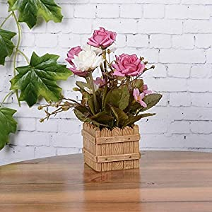 VHLL Rose Artificial Silk Flower Photography Props Spring Artificial Fake Rose Flower Fence Wedding Hydrangea Decor Real Touch New 33