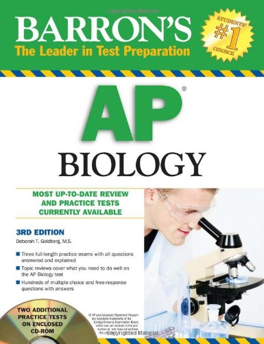Barron's AP Biology with CD-ROM (Barron's AP Biology (W/CD))