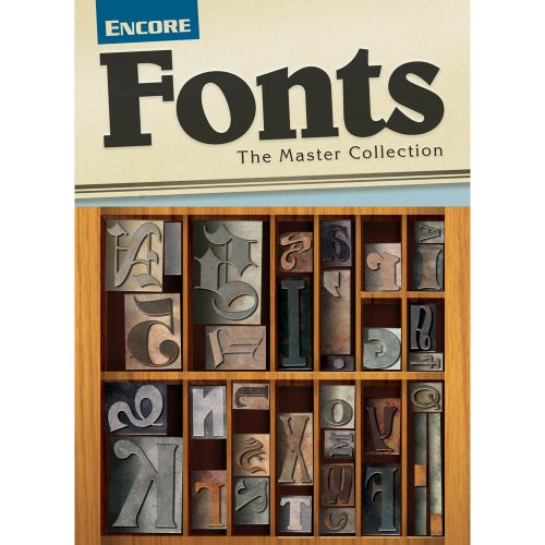 Font Collection PC [Download] by Encore
