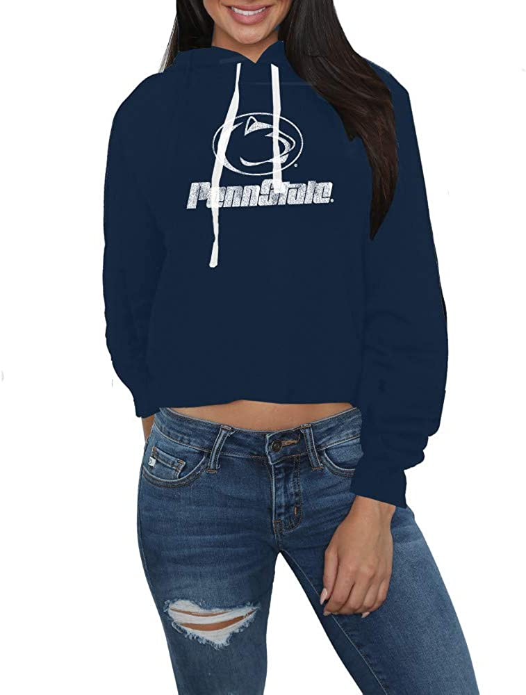 Elite Fan Shop NCAA Womens Crop Hoodie