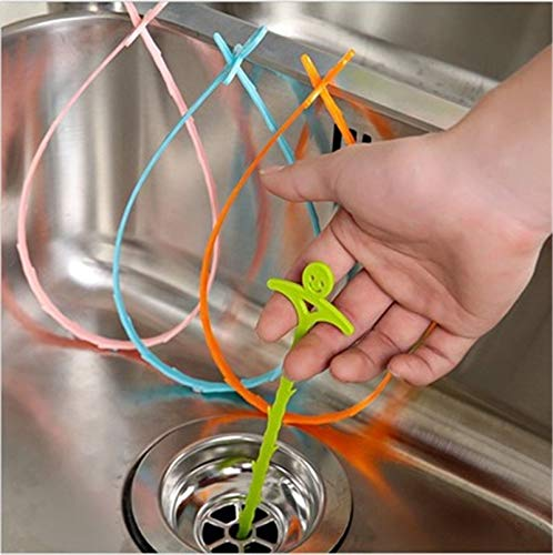 STORE-HOMER - New Kitchen Snake Fixed Sink Tub Pine Drain Cleaner Bathroom Shower Toliet Slow Removal Clog Hair Tool Dredge Tools 1Pcs