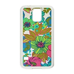 Vintage Flower ZLB543481 Personalized Phone Case for SamSung Galaxy S5 I9600, SamSung Galaxy S5 I9600 Case