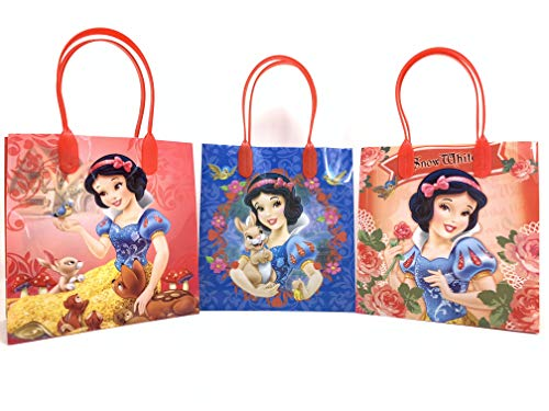 Disney Princess Snow White Authentic Licensed 12 Reusable Small Goodie Bags 6.25