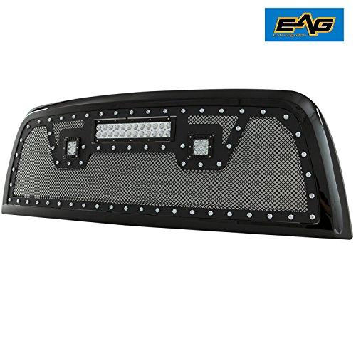 2pcs Tuff Protect Anti-glare Screen Protectors For 2012 Dodge Ram 3500