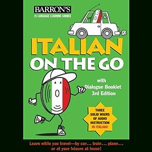Italian on the Go Audiobook