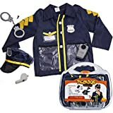 Police Costume for Kids - Policeman Costume With Durable Case - Police Officer Costume Kids by Tigerdoe