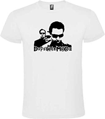 Camiseta Blanca Depeche Mode Hombre Tallas S M L XL XXL XXXL 100% ALGODÓN Mangas Cortas (XL): Amazon.es: Ropa y accesorios