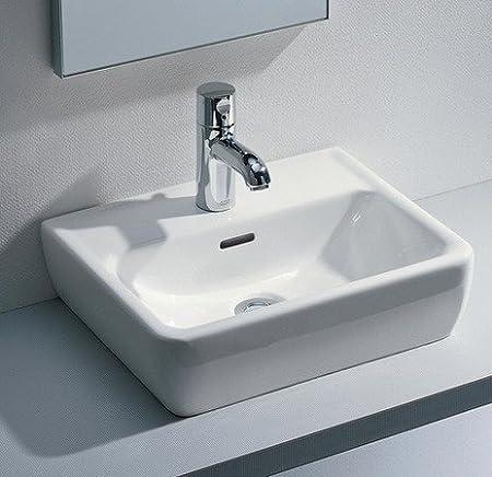 Laufen Pro A Waschtisch Schale 45 Cm Weiss Mit 1 Hahnloch Amazon De
