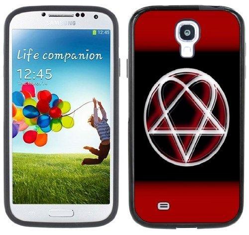 Él Heartagram Samsung Galaxy S4 negro carcasa rígida de ...