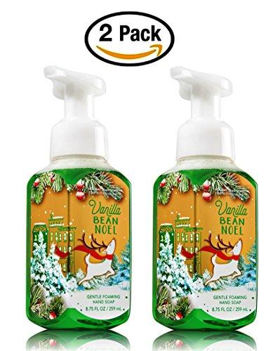 Bath & Body Works, Gentle Foaming Hand Soap, Vanilla Bean Noel (2-Pack) by Bath & Body Works