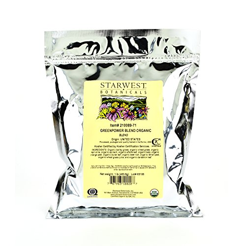 Starwest Botanicals Organic GreenPower Blend product image
