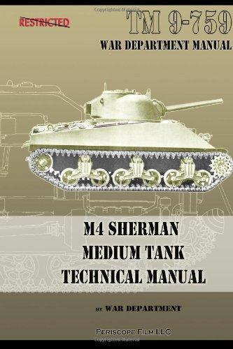 M4 Sherman Medium Tank Technical Manual
