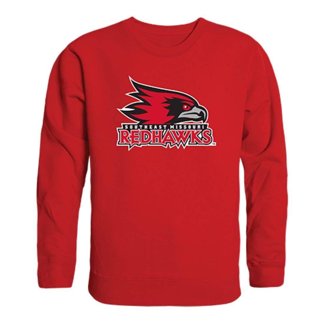 Southeast Missouri State University Redhawks Crewneck Pullover Sweatshirt Sweater Red
