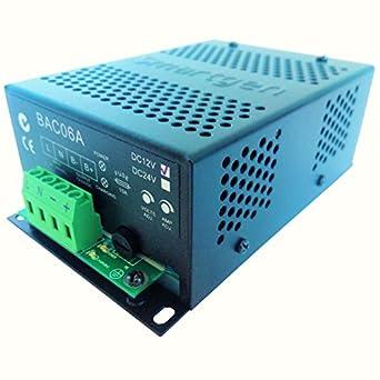 51R3PjiIpsL._SX342_ smartgen bac06a 12v generator battery charger (12v 6a, 90 280vac smartgen controller wiring diagram at gsmportal.co