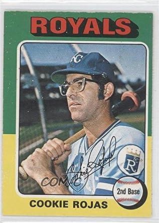 Amazoncom Cookie Rojas Baseball Card 1975 O Pee Chee